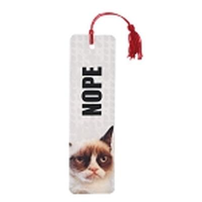 Click to get Grumpy Cat Nope Bookmark