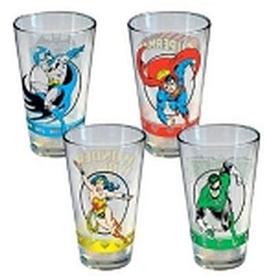 Click to get DC Hero Logo Pint 4 Pack