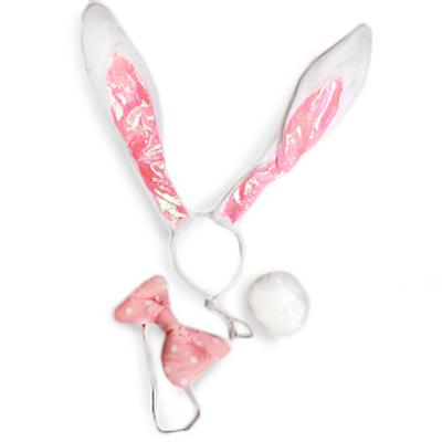 Click to get Bunny Ears Bow Tail  White