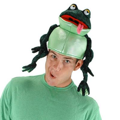 Click to get Croaker the Frog Hat