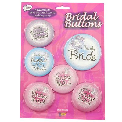 Click to get Bridal Buttons Set of 6