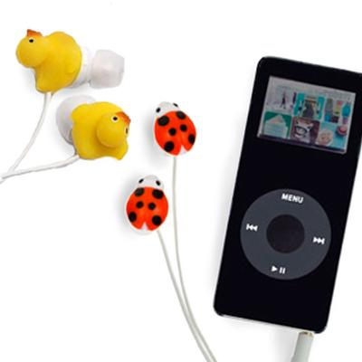 Click to get Animal Ear Buds Headphones