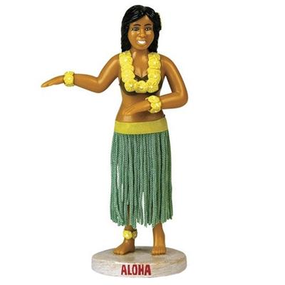 Click to get Dashboard Hula Girl