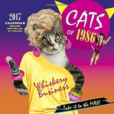 Click to get Cats of 1986 Wall Calendar 2017