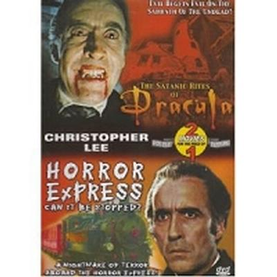 Click to get Bad Movie Night DVD Dracula  Horror Express