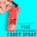 Quick Blast Fire Extinguisher Candy Spray