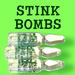 Stink Bombs- pack of 3
